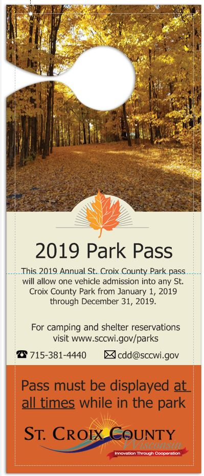 Annual St. Croix County Park Pass